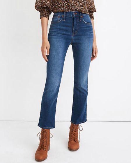 On sale for under $90. High rise cropped most flattering jeans! http://liketk.it/3hkYv #liketkit @liketoknow.it   #LTKDay #LTKsalealert #LTKunder100