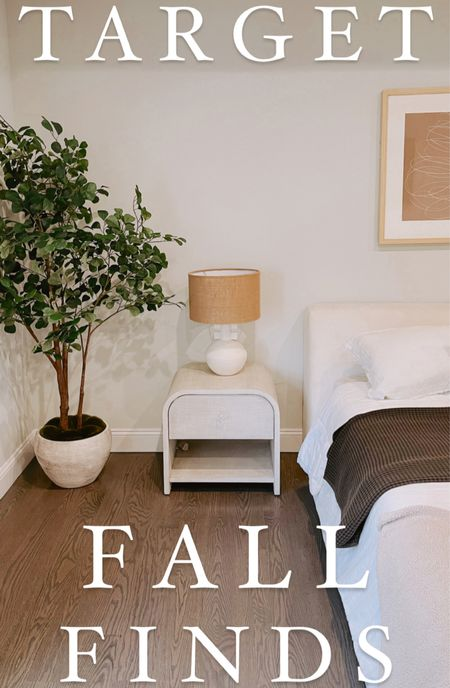Sharing some new items I found at target for our home this week. Love this faux tree 😍