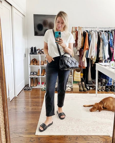 These pull-on jeans from Madewell are seriously one of the most comfy pairs I've ever tried. They definitely run big so I'd recommend sizing down two sizes.    #LTKstyletip #LTKunder100 #LTKsalealert