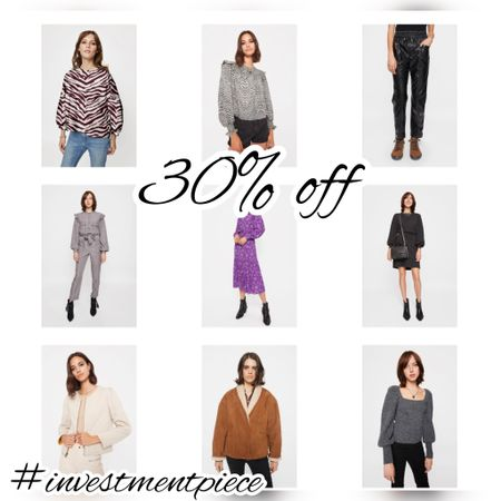 Today only get 30% off all clothing @rebeccaminkoff - from leather pants to shearling jackets to sweats, dresses, and more. Use code FALLFLASH30 #investmentpiece   #LTKSeasonal #LTKstyletip #LTKsalealert
