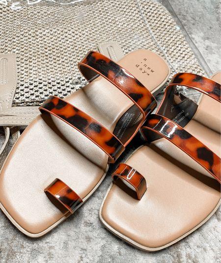 Target Sandals on Sale!  #beachtote #beachbag #tortoisepattern #Competition  #LTKsalealert #LTKSeasonal #LTKshoecrush