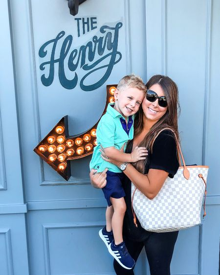 Fun morning g with my main squeeze. Comfort clothing and my favorite bag. http://liketk.it/2G6kf #liketkit @liketoknow.it #LTKkids #LTKfamily #LTKtravel @liketoknow.it.family You can instantly shop all of my looks by following me on the LIKEtoKNOW.it shopping app