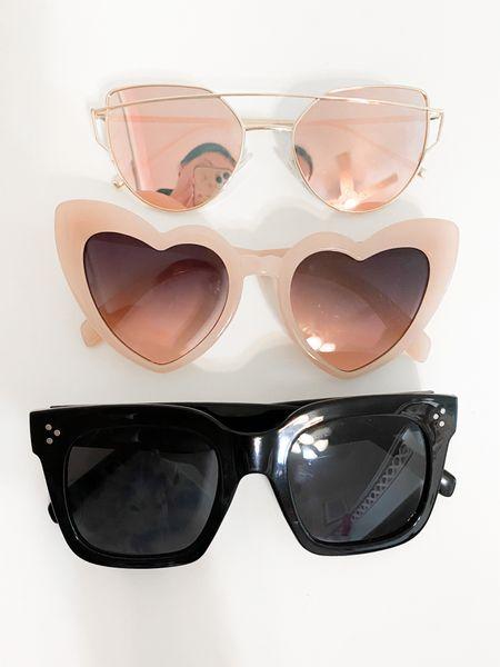 Amazon sunglasses! All under $15 & come in tons of color options.  #LTKunder50 #LTKunder100 #LTKSeasonal