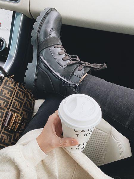 Combat boots #fall  #LTKSeasonal