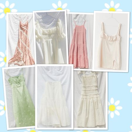 Urban Outfitters Summer Dress Roundup! Give me all the neutrals + pastels 🌸🌼🌻🐚🌾 @liketoknow.it #liketkit #LTKunder100 #LTKunder50 #LTKDay http://liketk.it/2RUBH