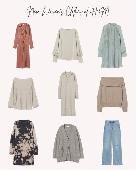 Women's clothing, new, fall, autumn, H&M, sweaters, dresses, jeans, blouses, tops, cozy, warm  #LTKunder50 #LTKSeasonal #LTKstyletip