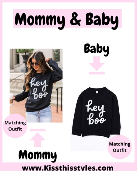 Marching outfits with baby Matching Halloween outfits  Matching sweatshirts with baby  Halloween & Fall sweatshirts  Halloween sweatshirt Halloween outfits Fall outfits Fall sweatshirts Etsy finds  Spice girl  Spooky season  Hocus pocus Sanderson sisters  Trendy sweatshirts  Red dress Pink lily Airport look Airport fashion  Fringe Sweater with fringe   #LTKstyletip #LTKbaby #LTKunder50