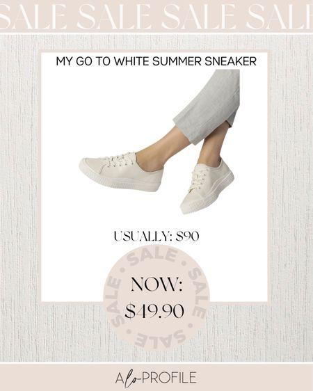 White sneakers, sneakers, white sneakers, Dolce vita, summer shoes, summer sneakers, summer style  #LTKunder50 #LTKshoecrush #LTKsalealert