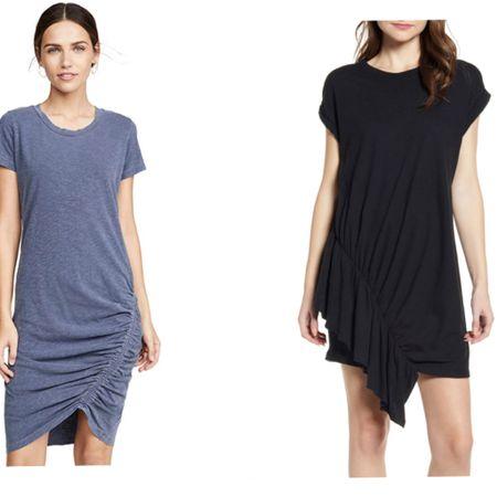 Two perfect t-shirt dresses for Summer. http://liketk.it/2CjpK #liketkit @liketoknow.it #LTKstyletip #LTKtravel #LTKspring