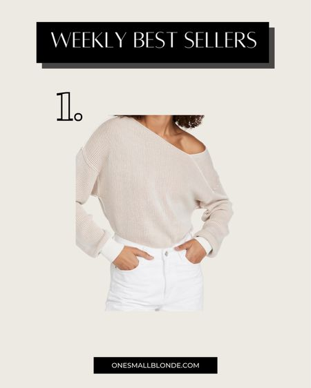 Under $100 off the shoulder sweater for fall 🖤   #LTKSeasonal #LTKstyletip #LTKunder100