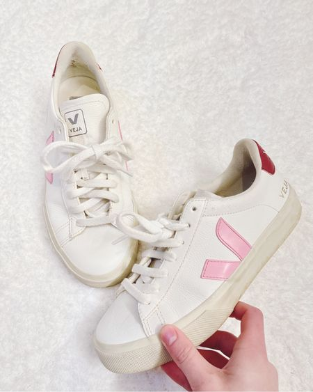 Pink and White Veja Sneakers made in Brazil #LTKbrasil #LTKshoecrush #LTKstyletip #liketkit @liketoknow.it http://liketk.it/3eDOS Shop your screenshot of this pic with the LIKEtoKNOW.it shopping app