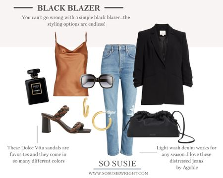Can't ever go wrong with a black blazer!   #LTKstyletip #LTKunder100 #LTKworkwear