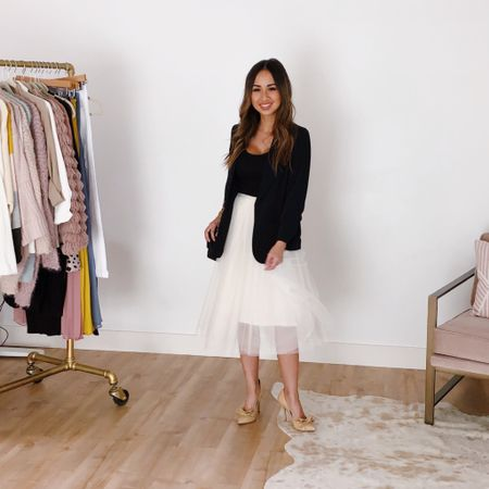Fall #tulle skirt vibes http://liketk.it/2Fze2 #liketkit @liketoknow.it #LTKstyletip #LTKunder50