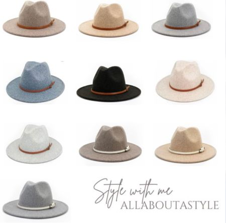 Women's Fedora Hats. #amazon #womensfashion #hats #fall  Follow my shop on the @shop.LTK app to shop this post and get my exclusive app-only content!  #liketkit  @shop.ltk http://liketk.it/3nFZt     #LTKGiftGuide #LTKSeasonal #LTKHoliday
