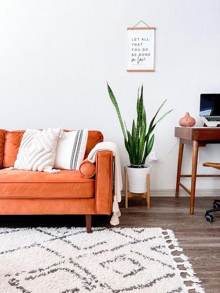 Apartment Living Room Decor  Mid-century modern | Minimalist | Boho     #LTKhome #LTKstyletip #LTKsalealert