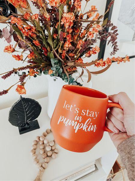 Fall coffee mugs 🧡 Fall home decor   #LTKSeasonal #LTKhome #LTKunder50
