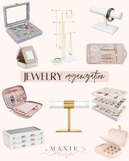 Jewelry Organization Must Haves ✨  #jewelryorganization #amazonfinds #amazonorganization #kendrascott #kendrascottjewelrybox #jewelrybox #jewelrystand #jewelryorganizer #braceletstand #traveljewelryorganizer  #LTKhome #LTKunder100 #LTKunder50