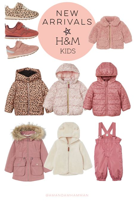 H&M, sale, girls, coats, fall   #LTKkids #LTKfamily #LTKSeasonal