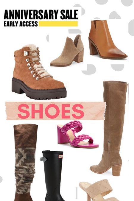 NSale // Nordstrom // anniversary sale // shoes // boots // booties // winter boots // heels // summer sandals   #LTKsalealert #LTKshoecrush #LTKSeasonal