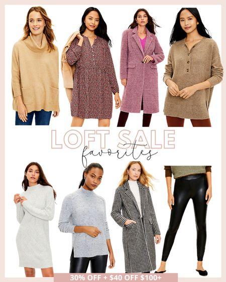 Loft sale favorites! So many good fall and winter new arrivals for up to 40% off right now!   #LTKsalealert #LTKSeasonal #LTKunder100