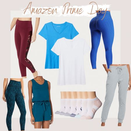 http://liketk.it/3i1Ph #liketkit @liketoknow.it Amazon Prime Day, Prime Day 2021, Amazon Fashion, Found it On Amazon, Amazon, Amazon Finds, Summer Styles, Summer Outfit, Casual Outfit, Cute styles, effortless styles, trendy styles, athleisure wear, athletic attire, athletic clothes, tik tok leggings, leggings, comfortable outfits, joggers, super soft sleeveless romper, romper, ankle/low cut socks
