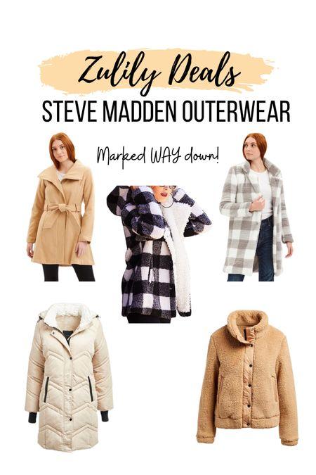 Steve Madden outwear- marked so far down at Zulily!!!     #LTKsalealert #LTKGiftGuide #LTKSeasonal