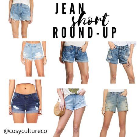 Jean short round up! Lots of styles and price points   #LTKunder100 #LTKstyletip #LTKSeasonal