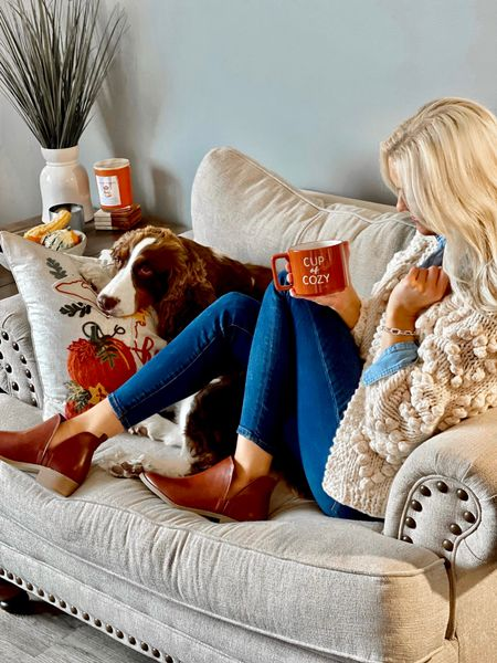 A cup of cozy was exactly what this morning needed! ☕️ Absolutely love this sweater that I just got in from @chicwish! I can see myself LIVING in it this Fall! 🍁🍃🍂 Follow me on the LIKEtoKNOW.it shopping app to get all of my product details! 📲 @liketoknow.it http://liketk.it/3nLxq #liketkit #LTKSeasonal #LTKfamily #LTKhome