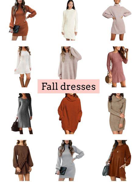 Sweater dresses   #LTKSeasonal #LTKunder100 #LTKunder50