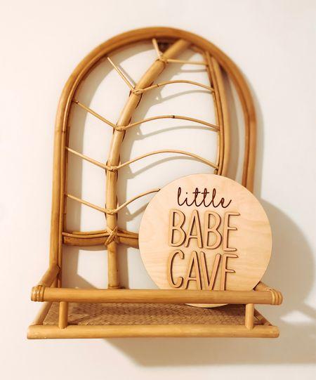Little Babe Cave sign Etsy find Etsy sign  Little girl room sign  Toddler girl room decor    #LTKhome #LTKbaby #LTKkids
