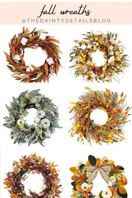 Fall wreaths for your front door!   #LTKSeasonal #LTKhome #LTKHoliday