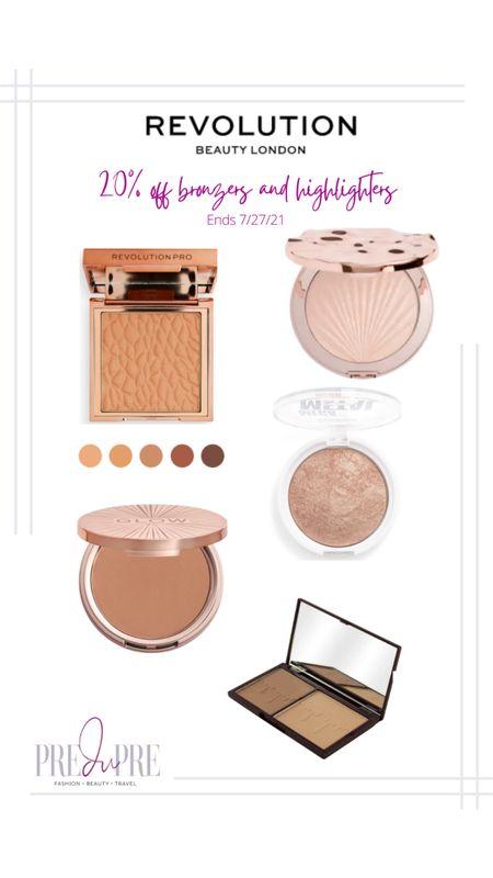 Revolution Beauty London bronzer and highlighter sale 20% off. #makeup #bronzer #highlighter http://liketk.it/3jYud @liketoknow.it #liketkit #LTKsalealert #LTKstyletip #LTKunder50 #LTKunder100 #LTKbeauty  Follow @predupre_ on the LIKEtoKNOW.it app to shop my looks!