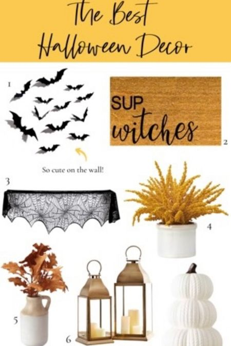 Halloween decoration 🎃  I have rounded up the best fall and Halloween decor below! So many of these fall items transition right into Thanksgiving and several things you can even use all year!  #LTKhome #LTKunder100 #LTKHoliday