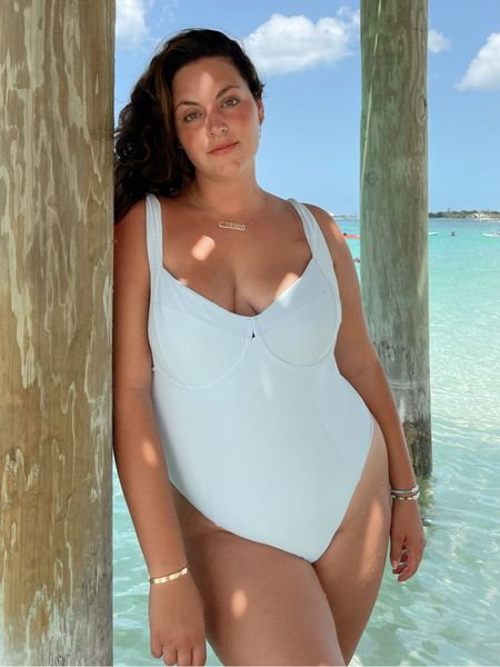Love this one piece swimsuit! So sexy and flattering!   #LTKstyletip #LTKcurves #LTKswim
