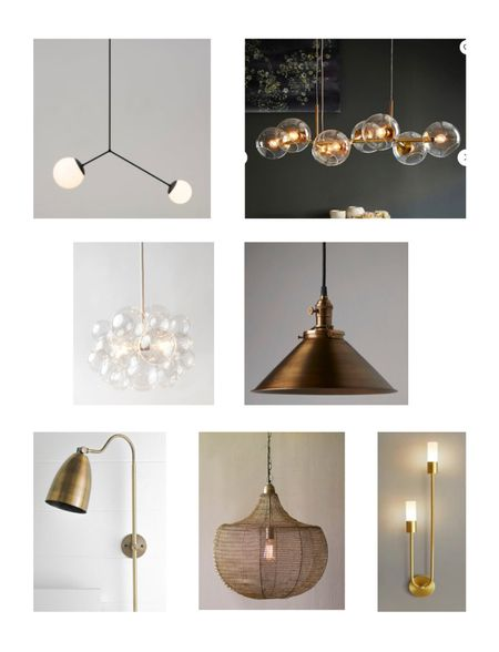 Etsy has become a recent go-to source for lighting. Shop my picks below!   #LTKhome #LTKstyletip