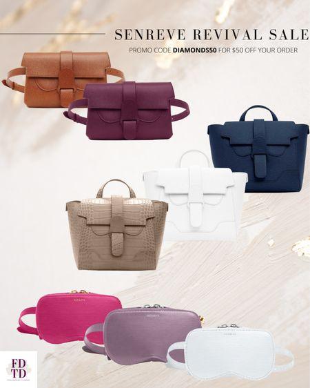 Up to 50% off Senreve handbags!  Plus you can use my promo for an additional $50 off!  DIAMONDS50  #LTKitbag #LTKsalealert #LTKworkwear