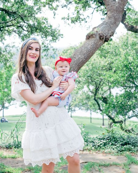 This little white dress gives me Love Shack Fancy vibes for just a fraction of the cost. 😍 Today on my blog I'm sharing more on this @chicwish dress + tips for flying solo with a small child. My biggest tip is to not overpack like I did. 🤣🤦🏻♀️  #LTKbaby