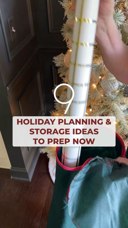 """9 holiday planning, storage, and organization ideas you can plan for NOW! #sponsored We're still celebrating all the fall things but I've already got a head start my holiday to-do list and today on KN, with #WalmartHome, I'm sharing a few easy systems and ideas for the start of the season. From the more expected portable decor storage to chalkboard cookie tins and creating a pre-decor """"tool kit"""", you can see all the details in the latest post (via link in bio)! You can also find everything I used from @walmart in the LTK app ❤️ #ltkunder50 organization storage baskets Christmas decor home decor Walmart finds Walmart home   #LTKSeasonal #LTKhome #LTKHoliday"""