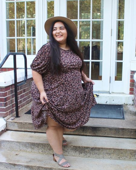 This dress is my go to for November! It was super popular early this fall! I was totally influenced to get it! http://liketk.it/314gc #liketkit @liketoknow.it #LTKunder50 #LTKcurves #LTKfit