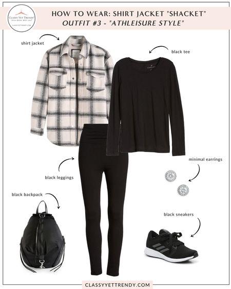 On The Blog: How To Wear a Shirt Jacket 4 Ways  #LTKstyletip #LTKunder50 #LTKunder100