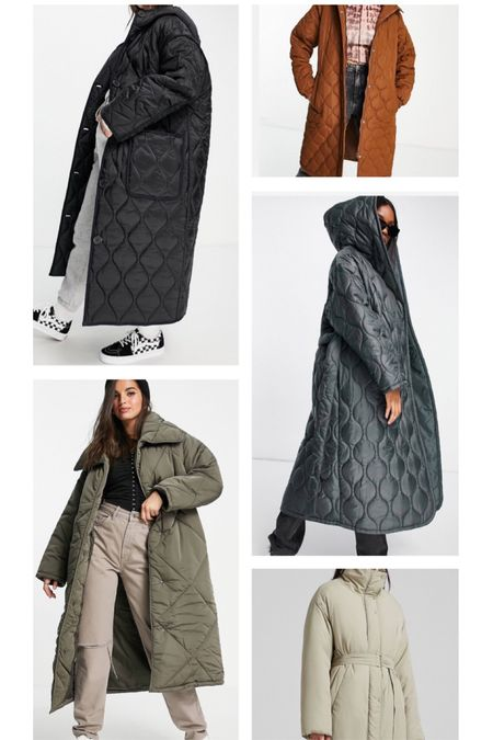 The quilted coat edit 🍃🍂