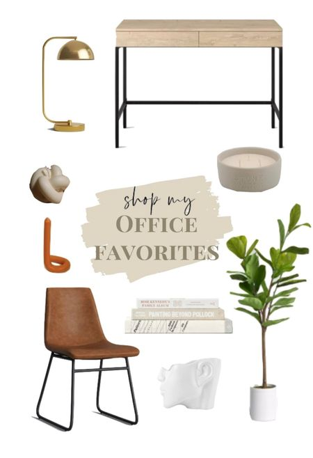 work from home but make it ✨atheistic✨ wfh. home office. office decor. desk. desk chair. boho modern.  #LTKSeasonal #StayHomeWithLTK #LTKhome