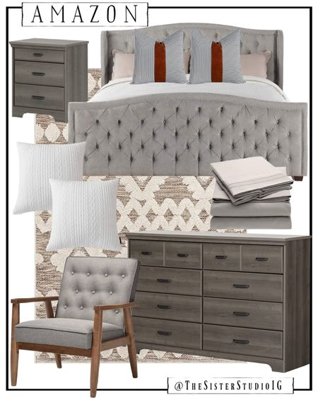 Amazon home decor finds.😍  master bedroom. Bed, nightstand, etc.      http://liketk.it/3f4SJ @liketoknow.it #liketkit #LTKstyletip #LTKhome