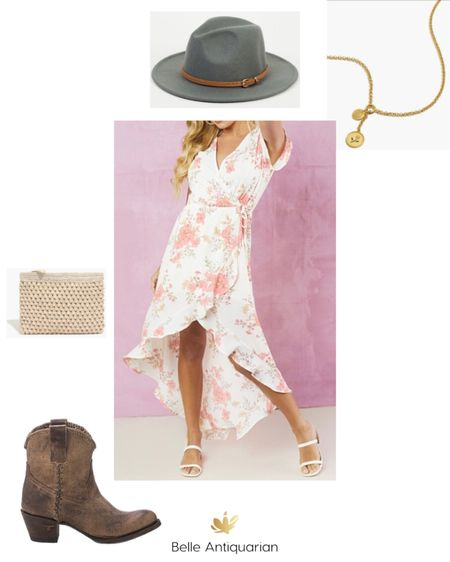 It's the season for graduations, weddings, and showers. Here's a cute and fun dress outfit! Follow me on LIKEtoKNOW.it for more deals and dupes! @BelleAntiquarian 🥰  #LTKstyletip #LTKshoecrush #LTKwedding