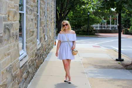 Causally walking into Wednesday with a smile on my face! A brand new post is up on #CAAB this morning and we are discussing how I plan to transition this dress to fall! And how if you buy the right #OTS top it can be worn as an 3 season piece!😍 Making it a huge closet staple🙌🏻 My dress is currently under $30 too! ❤️ http://liketk.it/2su0A #liketkit @liketoknow.it
