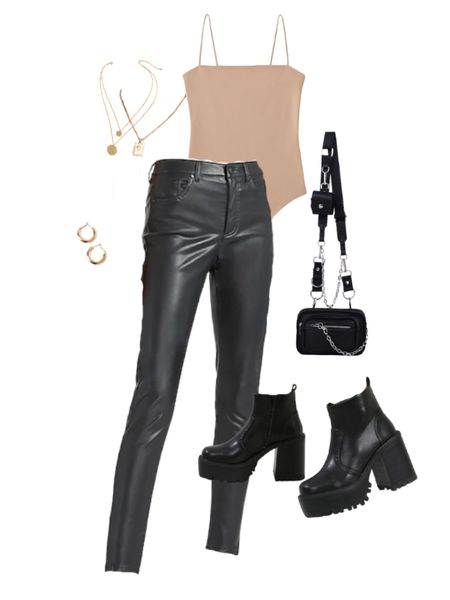 One of my favorite date night outfits with leather leggings/leather pants for a night out! Check out this date night outfit with leather leggings/leather pants (also a going out outfit or night out outfit) for a super trendy outfit and look! #shein #datenight #datenightoutfits #trendyoutfits #trendyoutfit #leatherleggings #leatherpants / #liketkit @liketoknow.it #LTKunder50 #LTKunder100 #LTKSeasonal http://liketk.it/37xlB
