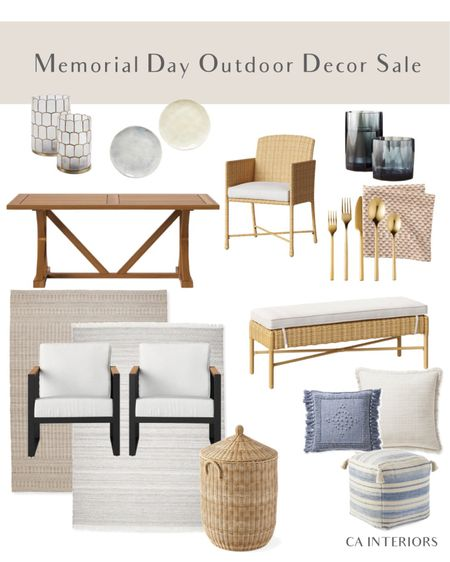 Lots of great summer outdoor decor with these Memorial Day sales! http://liketk.it/3gkRS #liketkit @liketoknow.it #LTKhome #LTKfamily #LTKsalealert