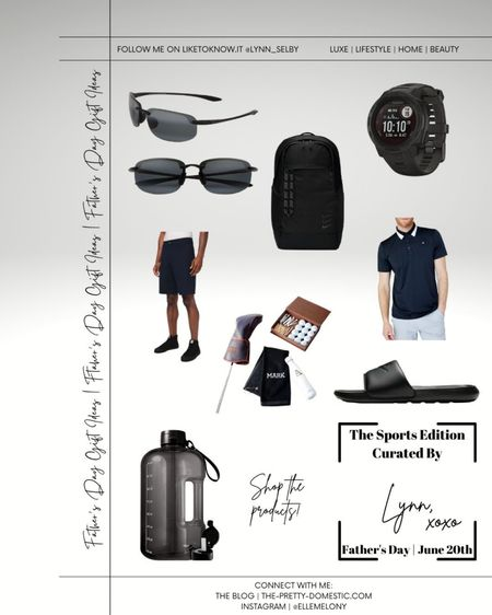Your Father's Day Gift Guide | The Sports Edition.  #liketkit @liketoknow.it #LTKmens #LTKfit http://liketk.it/3gZcP