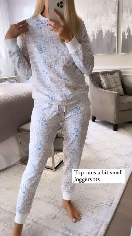 Target cozy find! Top run small. Joggers run true to size  #LTKunder50 #LTKunder100 #LTKsalealert