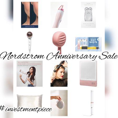 Must have beauty devices at the #anniversarysale @nordstrom #investmentpiece   #LTKbeauty #LTKsalealert #LTKunder100
